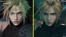 Final Fantasy 7 Remake 2015 vs 2019 Early Graphics Comparison