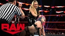 Natalya vs Asuka Raw Nov 18 2019
