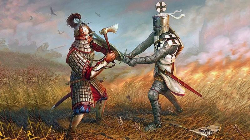 M B Warband Русь XIII век Время меча 2 3 5 Литва бежит засада встречает 31