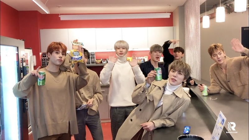 [YT][08.01.2019] SOUND-BITE: MONSTA X! Our Kpop faves give new meaning to the drink 7 Up! @ ENTERCOM