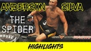 Anderson The Spider Silva Highlights (2018) HD ||| CAN'T BE TOUCHED