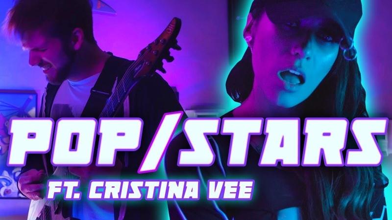 K/DA - POP/STARS || METAL COVER by RichaadEB Cristina Vee