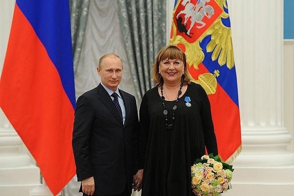Татьяна Кравченко наградили орден Почета!