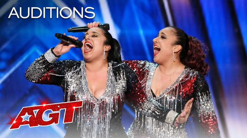 Talented Twins Double Dragon Perform It's Raining Men With Pizzazz America's Got Talent 2020