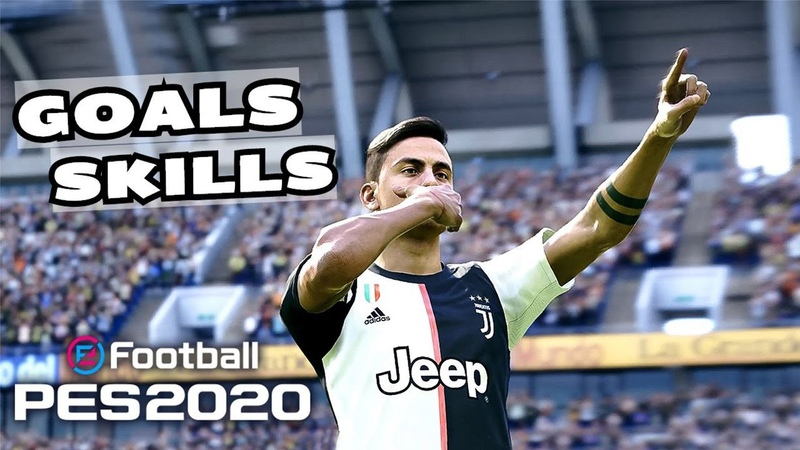 PES 2020 Realistic Gameplay | Goals Skills Compilation