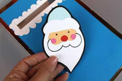 Предлагаю вам интересные идеи аппликаций, поделок на зимнюю новогоднюю тематику для детей - почтовый ящик