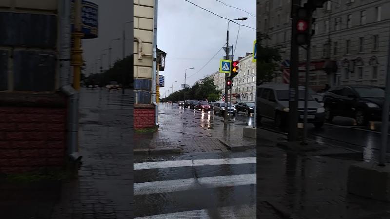 Череповец 28 июля 2019 После ливня. ул.Сталеваров и ул. Металлургов