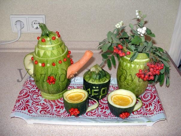 Поделки из овощей Скоро во всех дет. садах страны!
