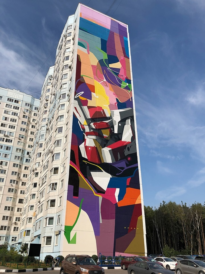 Граффити из Трехгорки вошло в топ лучших