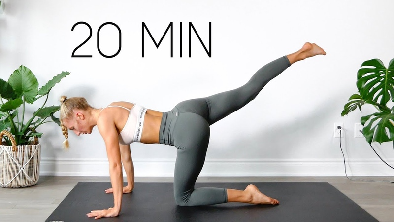 20 MIN FULL BODY WORKOUT | At Home Equipment Free