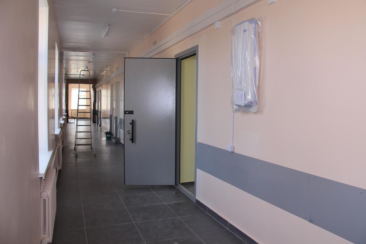 Хирургическое отделение в Вологодской городской больнице № 1 отремонтировано