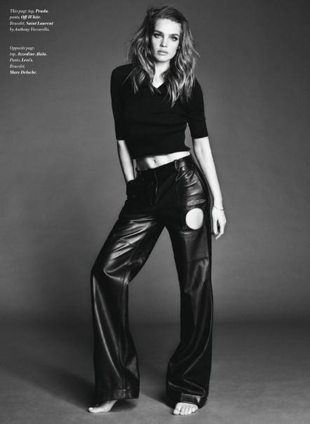 Наталья Водянова для Vogue, 2020