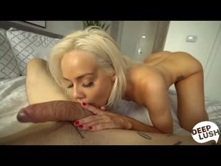 Elsa Jean - Eye Contact And Orgasms - Porno, Blowjob, Blonde, Te