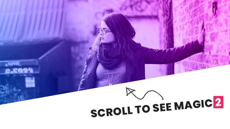 CSS3 Transform Effects on Scroll 2 | Html CSS Vanilla Javascript Skewed Background