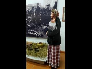 """Фрагмент открытия выставки """"Глиняная история"""""""