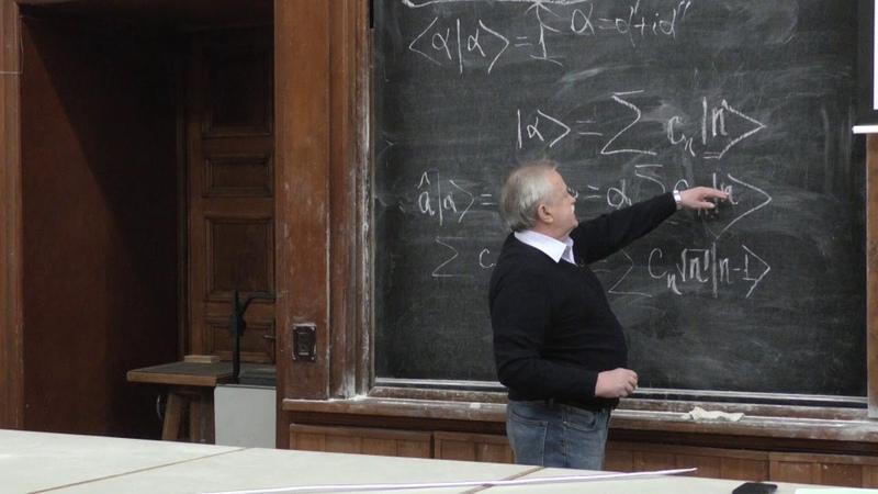 Елютин П. В. - Квантовая теория - Задача о гармоническом осцилляторе (Лекция 20)