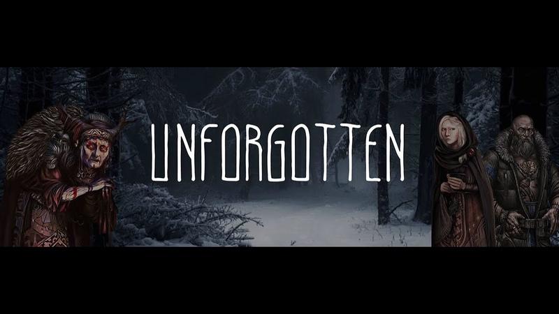 Уютный стрим Заметки на полях Знакомство с игрой Незабытые Unforgotten