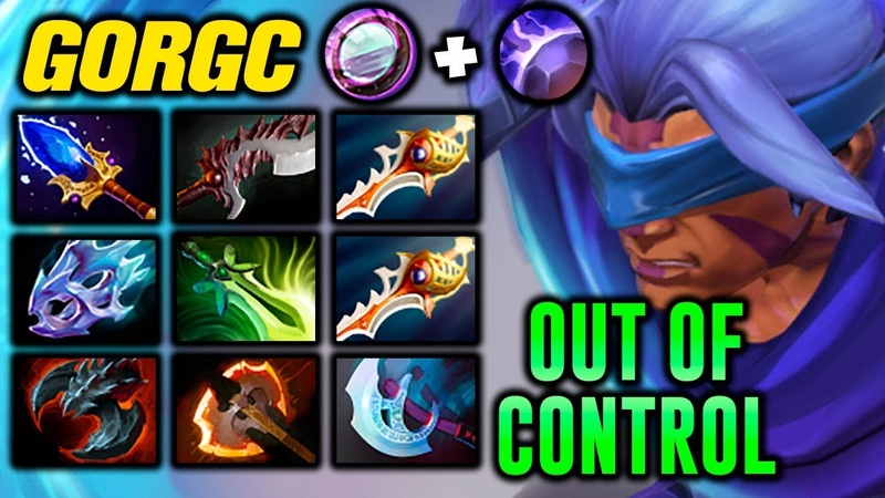 GORGC OUT OF CONTROL ANTI MAGE Dota 2 Highlights TV