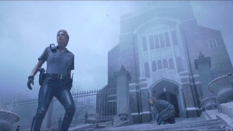 Terror em Silent Hill Cena da Sirene