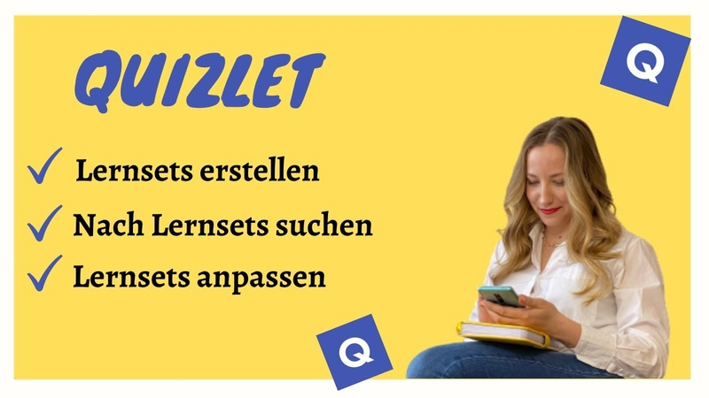 Quizlet — Wie man Lernsets erstellt, nach Lernsets sucht, anpasst und speichert — Lerne mit Quizlet