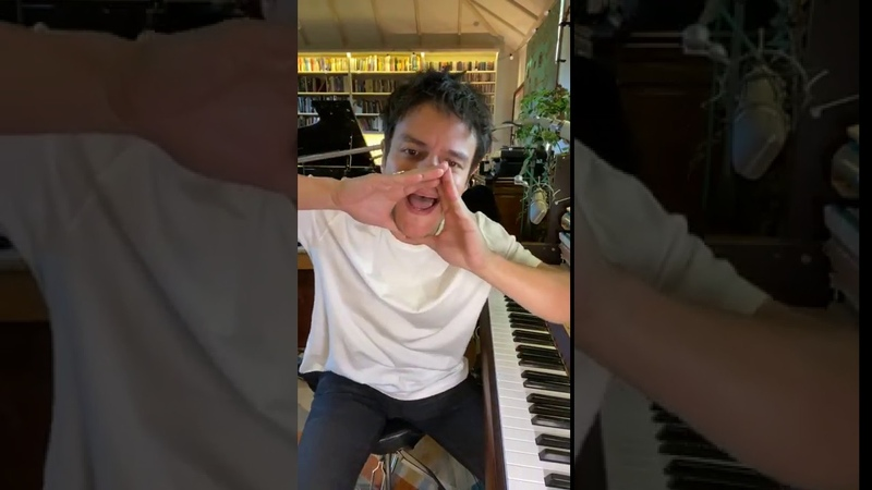 Jamie Cullum's Instagram Live session from the 28th May