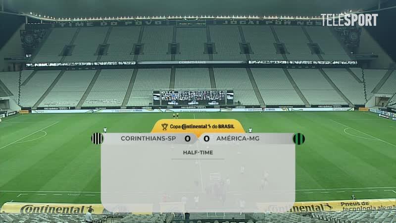 Коринтианс Америка Минейро 0 1 Кубок Бразилии 1 8 финала Обзор матча все голы