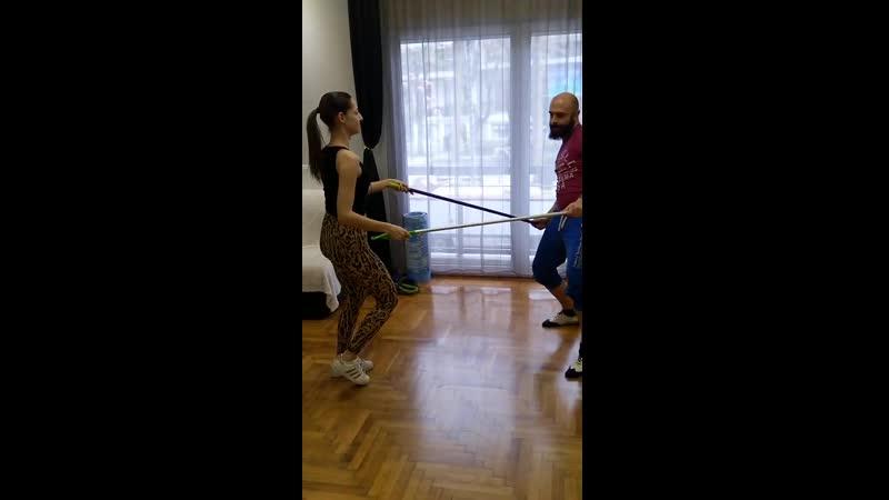 How to Corona Virus Bachata Dance with extra protection (Tolis - Street Latin)