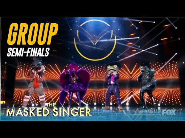 The Masked Singer FINALISTS Group Performance