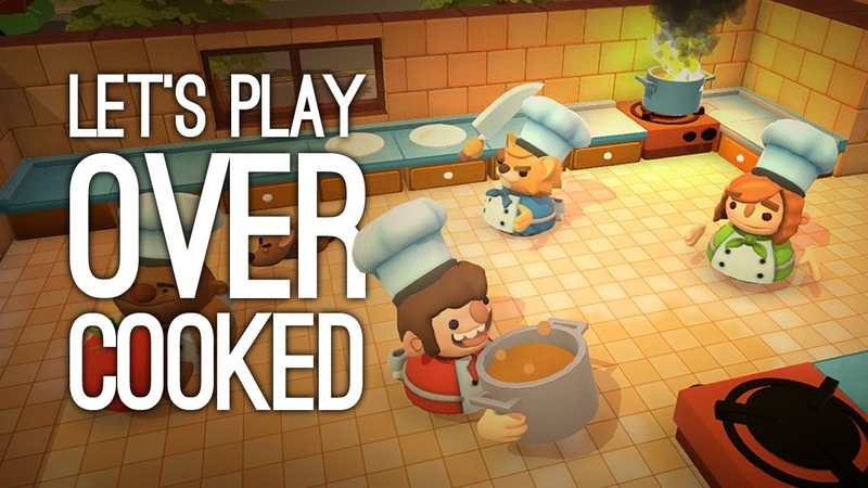 Overcooked Gameplay: Let's Play Overcooked - COUCH CO-OP COOKING