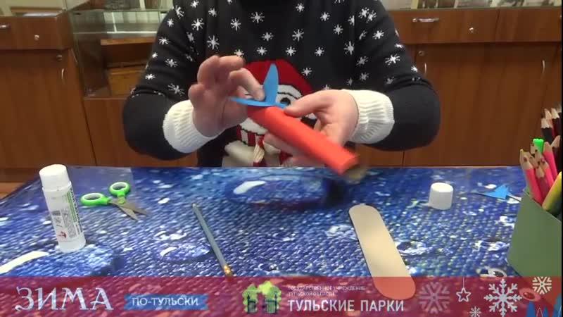 Объёмное оригами Самолётик к 23 февраля