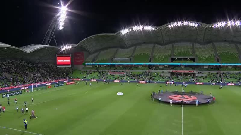 Чемпионат Австралии 2018 19 25 й тур Мельбурн Сити Аделаида Юнайтед