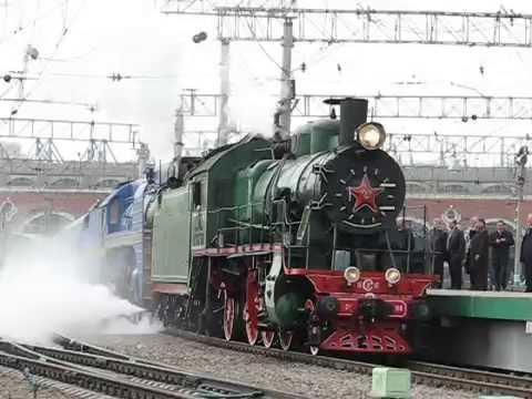 TRANS Siberian Express Отправление туристического поезда Золотой Орел с Казанского вокзала