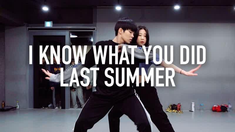 1Million dance studio I Know What You Did Last Summer - Shawn Mendes, Camila Cabello / Tina Boo X Jun Liu Choreography
