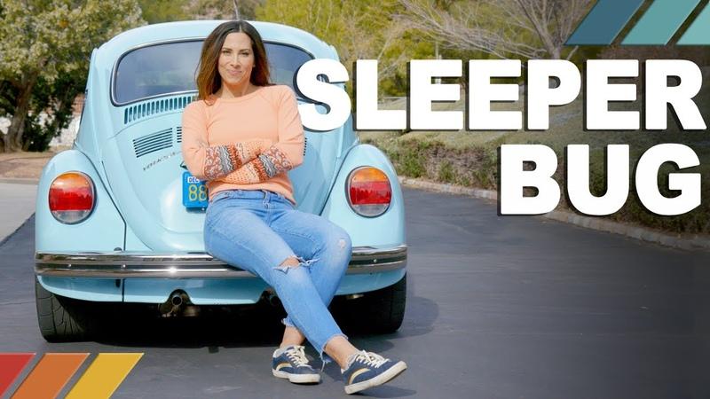 SLEEPER BUG 517 WHP Subaru-powered 1973 VW Super Beetle | Nicole Johnsons Detour EP1
