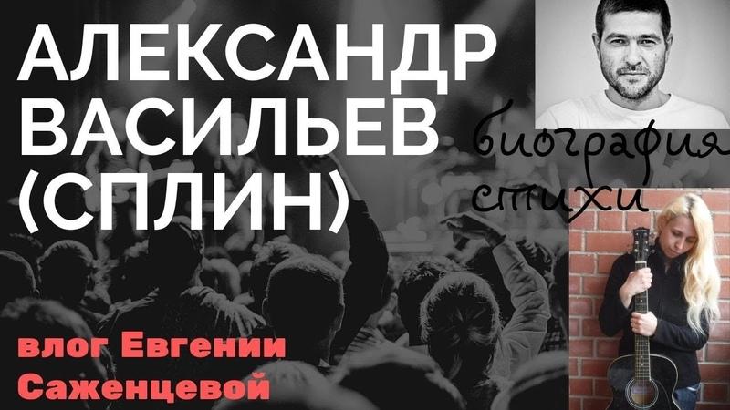 Александр Васильев(СПЛИН)биография/Влог Евгении Саженцевой