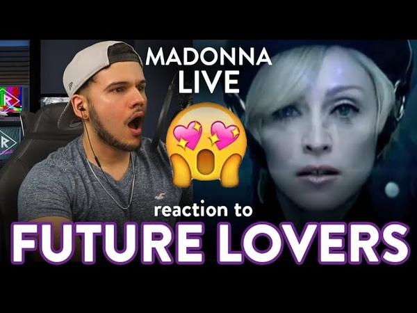 Madonna Reaction Future Lovers LIVE Confessions Tour EPIC Dereck Reacts