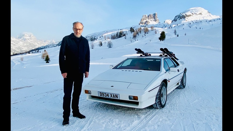 James Bond drove a Lotus Esprit turbo to Cortina in 'For Your Eyes Only' so we did too