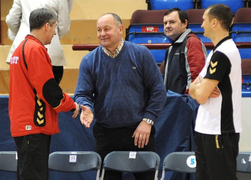 С Владимиром Савко и Гинтарасом Савукинасом