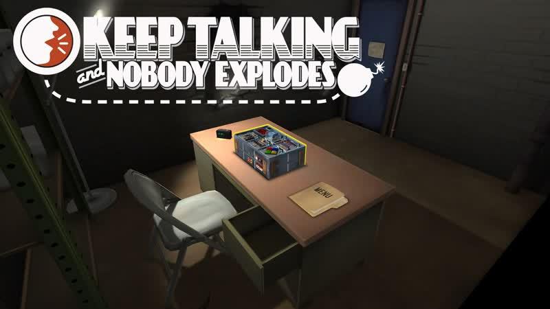 Сапёр ошибается пару раз Keep Talking and Nobody Explodes