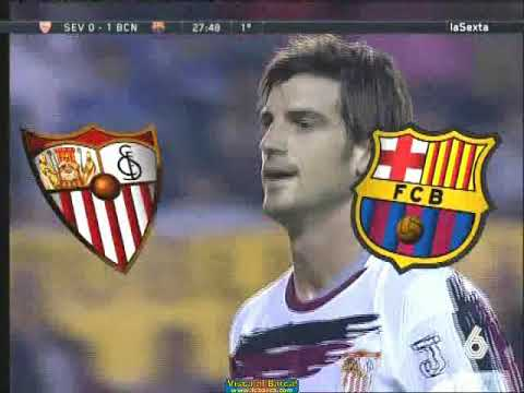 Season 2006 2007. Sevilla FC FC Barcelona 2:1 highlights