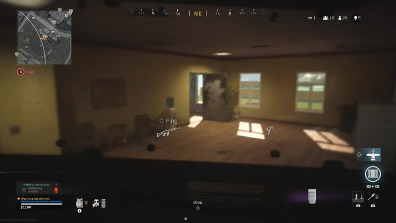 The riot shield really does make you completely invisible