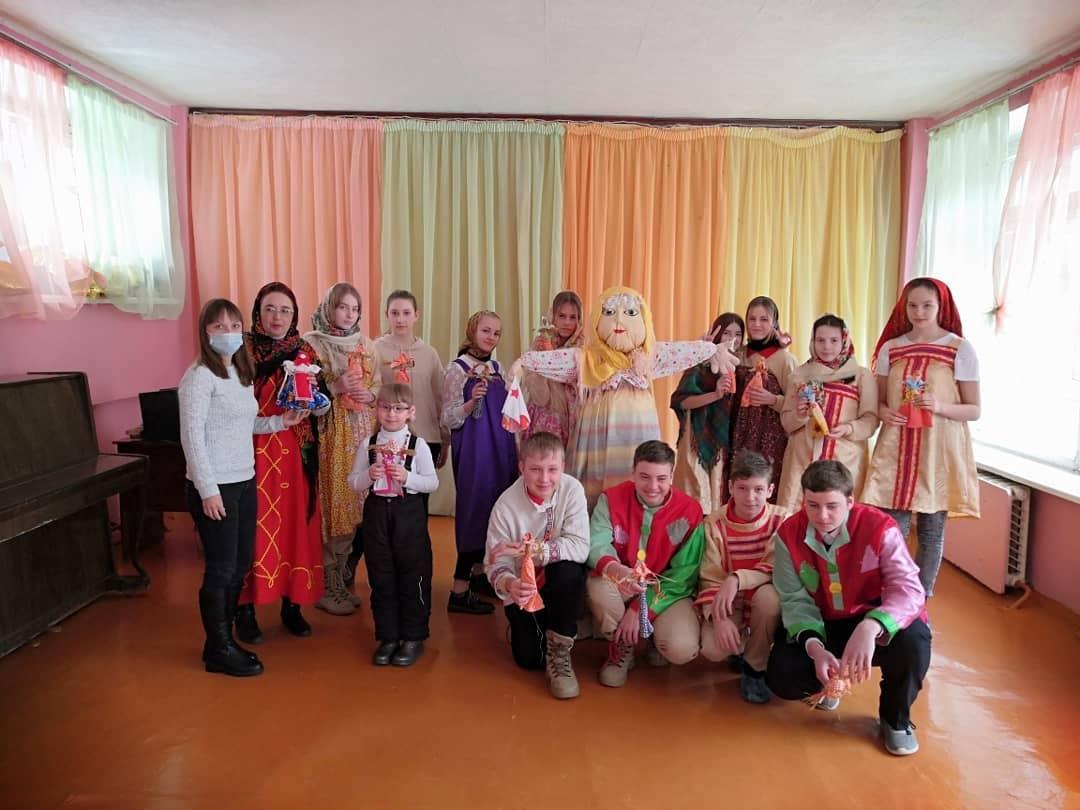 Вчера, в последний день Масленицы - Прощёное воскресенье, в детско-юношеском центре состоялись тематические встречи со школьниками