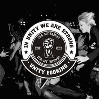 Логотип Unity Booking/Distro/Label