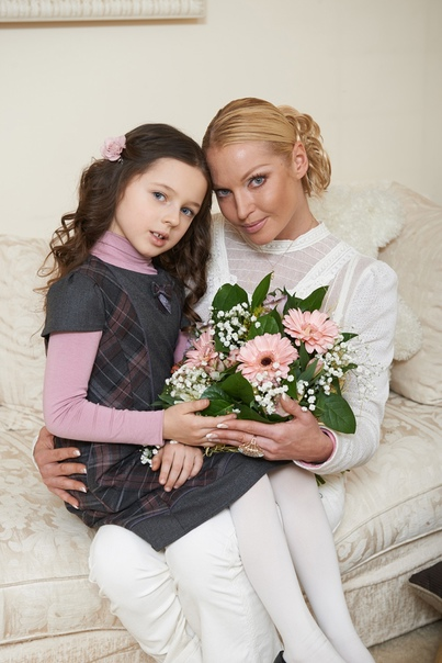 Анастасия Волочкова рассказала о своей дочери: