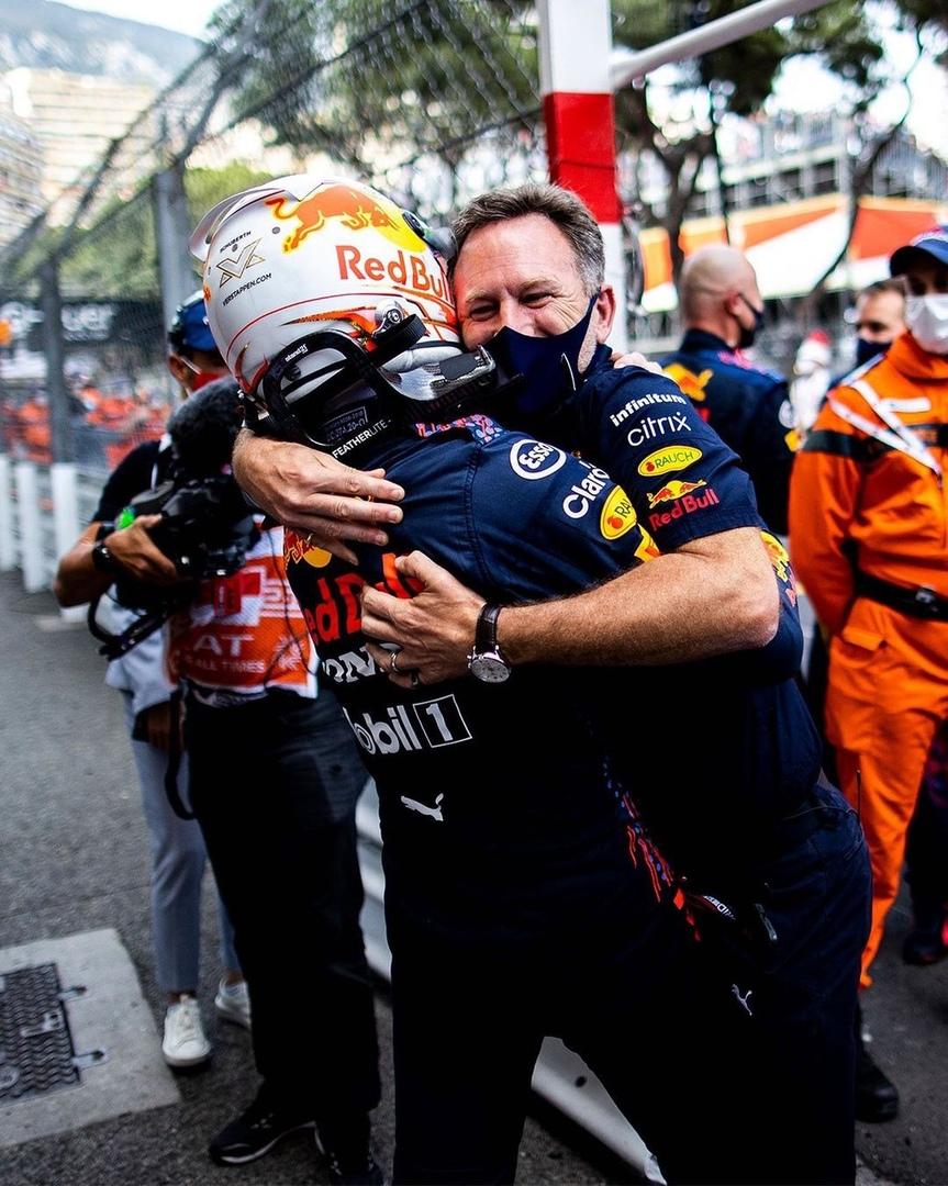 Red Bull Max Verstappen and Christian Horner on Monaco Grand Prix, social media