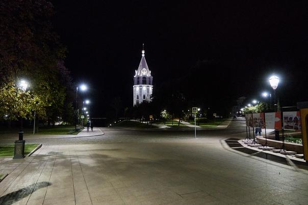 Что подарил нам юбилей города. Ночной Кремль!#фото...