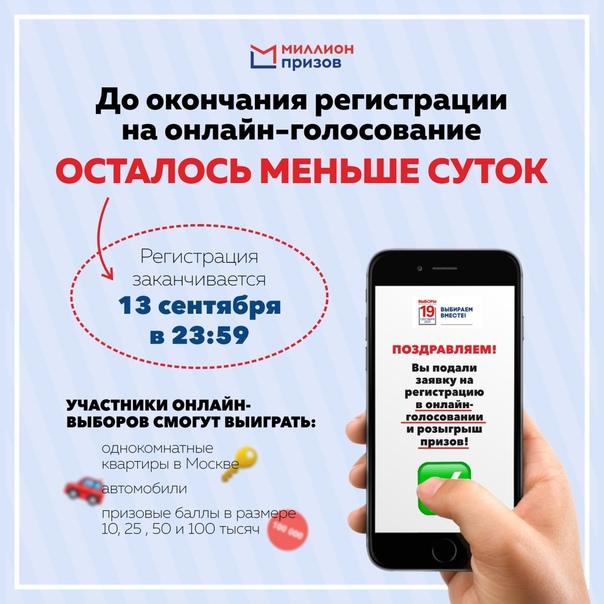 Успеть за 24 часа: Москва в ожидании онлайн голосования.З...