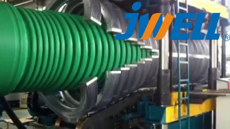 PE1200 Corrugated Pipe extrusion line Email:salck@