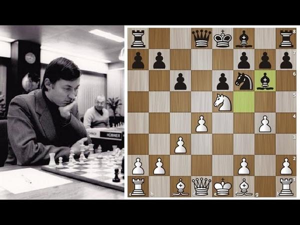 Анатолий Карпов нарушает принципы игры в дебюте и уничтожает Защиту Каро Канн Шахматы