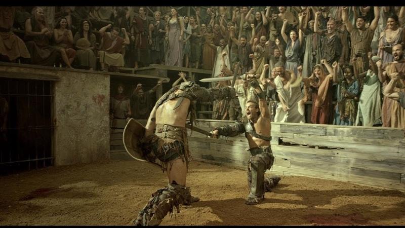 не все бои гладиаторов на арене из сериала Спартак Боги арены Spartacus Gods of the Arena